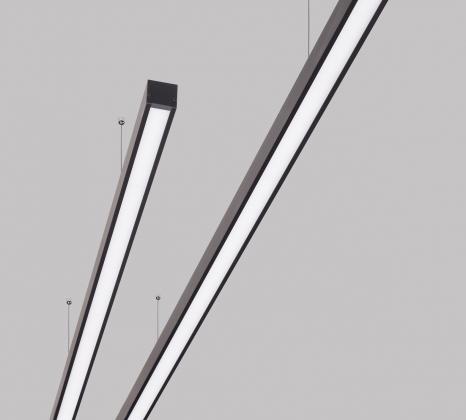 Линейный светодиодный светильник Z-LED 150ВТ черный (2987x42x43) LSN-150b
