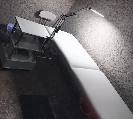 Настольная светодиодная LED лампа Z-LED 10Вт Белая