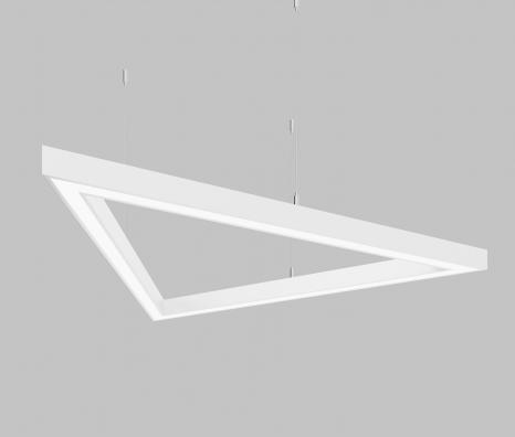 Светодиодный светильник  Z-LED 120Вт Треугольник белый (3x880) LSNTri-120w