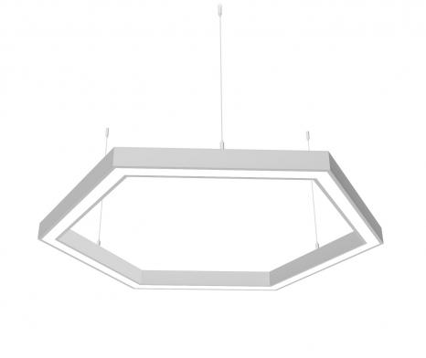 Светодиодный светильник Z-LED 120Вт шестиугольник (6х430) LSNH-120