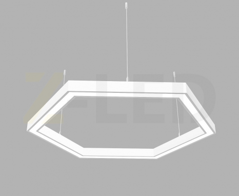 Светодиодный светильник Z-LED 120Вт шестиугольник белый (6х430) LSNH-120w