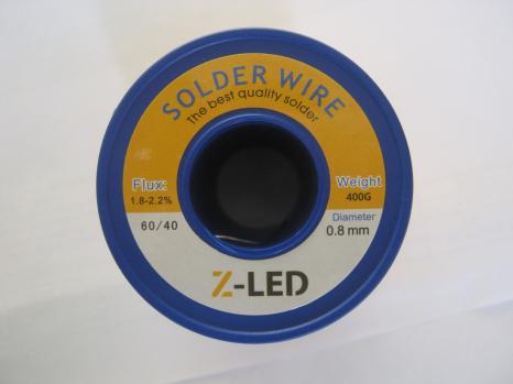 Припой с флюсом Z-LED Sn60 Pb40