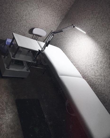 Настольная светодиодная LED лампа с сенсорным управлением Z-LED 10Вт Черная