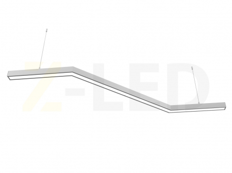 Светодиодный светильник  Z-LED 80ВТ Z-образный (Зигзаг) (400х800x400) LSNZ-80