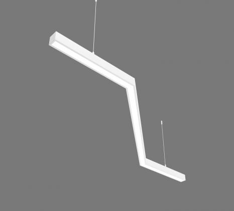 Светодиодный светильник  Z-LED 80ВТ Z-образный белый (Зигзаг) (400х800x400) LSNZ-80w